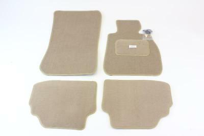 Fully Tailored Car Floor Mats - BMW 3 Series Coupe 2006 to 2011, Beige