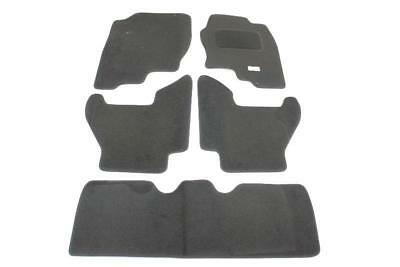 Fully Tailored Car Floor Mats - Nissan PATHFINDER 2005 Onwards, Black