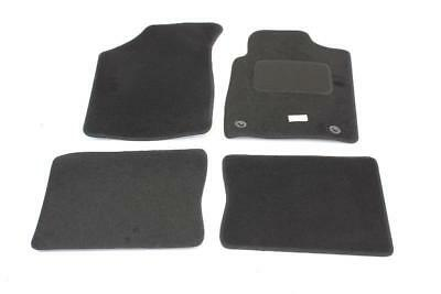 Fully Tailored Car Floor Mats - Renault CLIO Mk II 1998 Onwards, Black