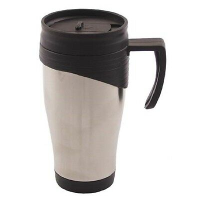Tasse Edelstahl 400 ml Isolierbecher Thermobecher Isolier Becher Coffee to Go