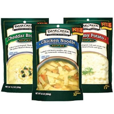 Bear Creek Country Kitchen Soup Mi Various Flavors And Pack Sizes Free Shippi