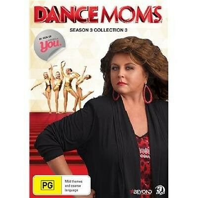 DANCE MOMS - SEASON 3 COLLECTION 3   -  DVD - UK Compatible - New & sealed