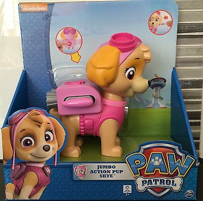 Paw Patrol Skye Jumbo Action Pup Nickelodeon Copter Helicopter Toy Gift Rare NEW