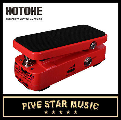 Hotone Soul Press Volume / Expression / Wah Pedal Soulpress New