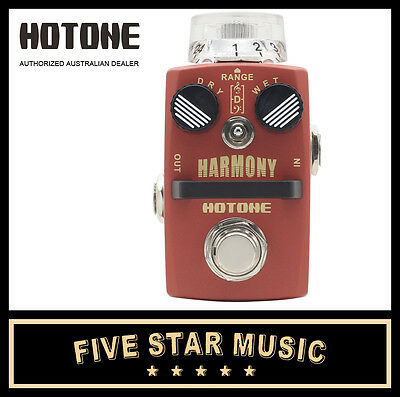 Hotone Harmony Pitch Shifter & Harmonist Mini Guitar Effects Pedal - New