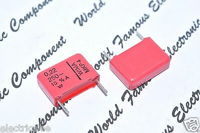 WIMA MKP4 0.22uF 4pcs 0,22µF 220nF 400V 5/% pitch:15mm Capacitor