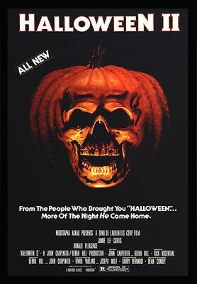 -A3- HALLOWEEN 2, 1981 MOVIE Film Cinema wall Home Posters Art - #21