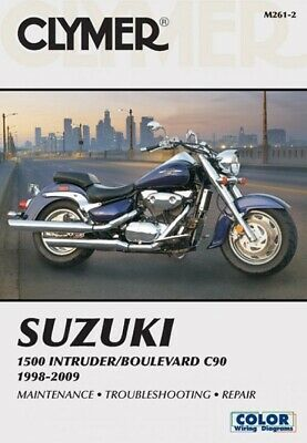 1998-2009 Suzuki CL1500 Intruder Boulevard Clymer Repair Service Manual M2612