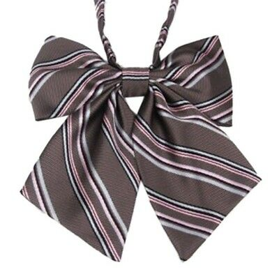 Japanese style fashion school girl uniform Cosplay Bow tie Bowknot Multicolor