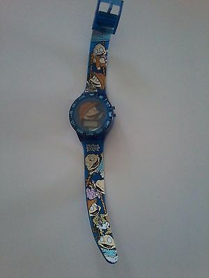 Vintage Rugrats Tommy & Dill Wrist Watch
