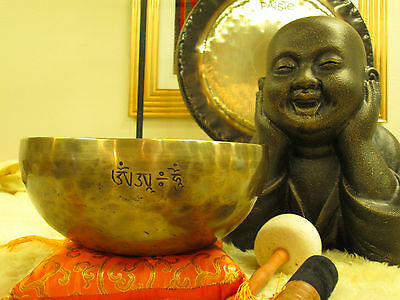 Handmade Full Moon Singing Bowls from the Himalaya! By Notes A/B/C/D/E/ F/G
