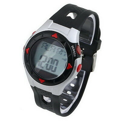 Waterproof Pulse Heart Rate Monitor Stop Watch Calories Counter Sport Fitness LC