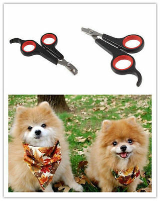 Pet Dog Cat Grooming Nail Toe Claw Clippers Scissors Trimmer Groomer Cutter LE
