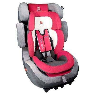 Renolux Child Car Seat Red Group 1/2/3 and 9-36kg - Unisex Baby Booster Seat