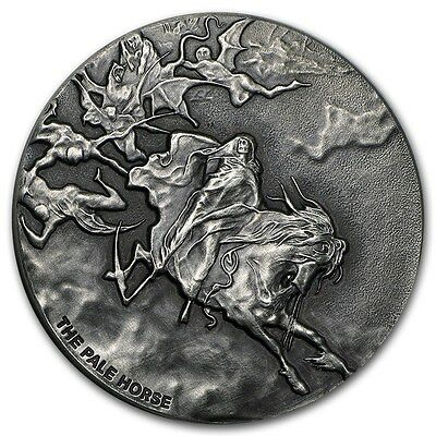 2015 Biblical Series | The Pale Horse | 2 oz .999 Silver USA Coin - 1,499 MINTED