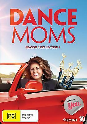 DANCE MOMS - SEASON 5 COLLECTION 1  -  DVD - UK Compatible - New & sealed