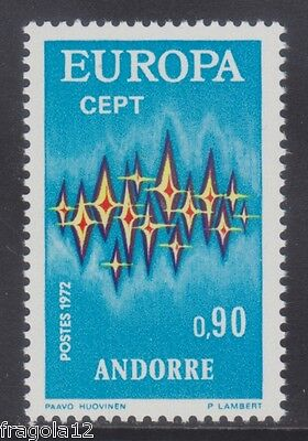French Andorra 1972 - Europa - C. 90 - Mnh