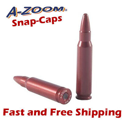A-Zoom 308 Win Metal Snap-Caps -Practice/Training/Dummy Rounds -2 Pack 12228