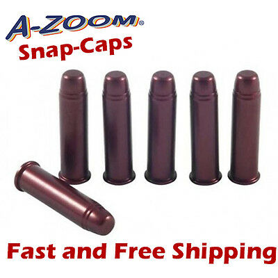 A-Zoom .357 Magnum Metal Snap-Caps -Practice/Training/Dummy Rounds -6 Pack 16119