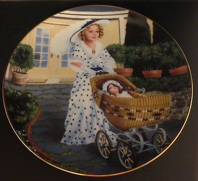 Danbury Mint Shirley Temple Collection Bright Eyes Collector Plate