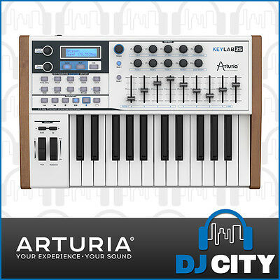 Arturia KeyLab 25 Note Controller Hybrid Synthesizer Keyboard