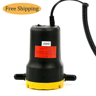 12V Motor Oil Diesel Extractor Scavenge Suction Transfer Change Pump US SHIPPING