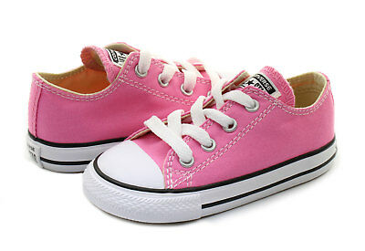 Converse Low Top All Star Ox Baby Boy Girl Toddler Infant Pink Shoes All Sizes