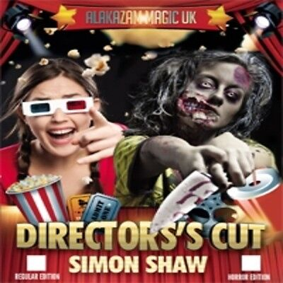 Directors Cut by Simon Shaw and Alakazam Magic Mentalism Easy to do