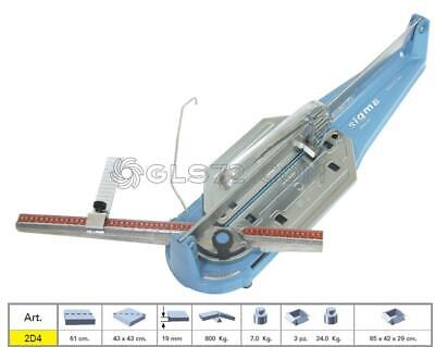 Tile Cutter Sigma 2D4 Manual Professional Serie Tecnica Cutting Lenght 61 Cm