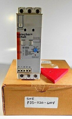 Allen Bradley PDS020600V 20a soft starter NEW IN Box!