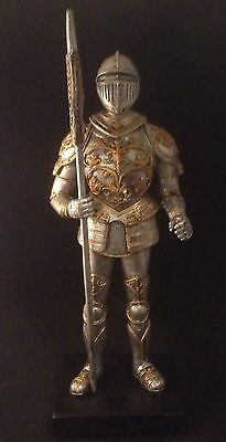 KNIGHT King Arthur MEDIEVAL Knights of the Round Table RESIN Sculpture SWORD