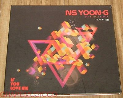 NS YOON-G YOONG JAY PARK If You Love Me K-POP PROMO DIGITAL SINGLE CD