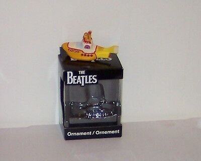 AMERICAN GREETINGS [  A YELLOW SUBMARINE  ] THE  BEATLES  ORNAMENT  NEW IN BOX