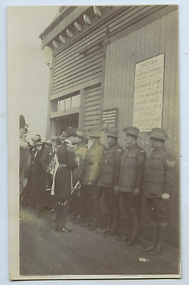 1920 Rp Npu Postcard Prince Of Wales Visit To Aust With Aif Soldiers Y19