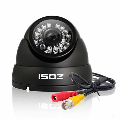 ZOSI 4CH 1080P TVI DVR 2.0MP Outdoor CCTV IR-Cut Home Security Camera System Kit
