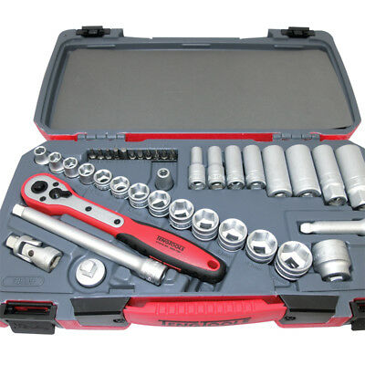 Teng Tools JULY SALE!  39 Pce 3/8 Drive Socket Ratchet Extension Tool Set Case
