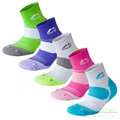 5 Pair Pack More Mile London Cushioned Padded Sports Running Socks Mens Ladies