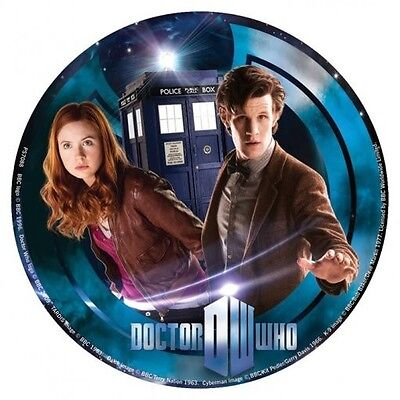 DOCTOR WHO - The Doctor and Amy - Aufkleber Sticker - Neu
