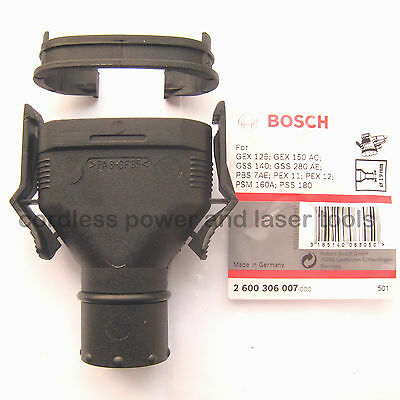 Bosch Dust Extraction Oval Port Adapter GEX GSS PEX PSM PSS Sander 2600306007