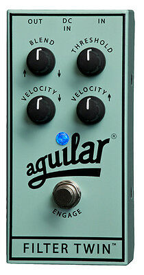 Aguilar Effects Pedal Filter Twin Dual Envelope Filter (Guitar Accessories - Eff