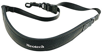 Neotech Classic Strap Loop Hook Black Regular (Woodwind Accessories - Straps)