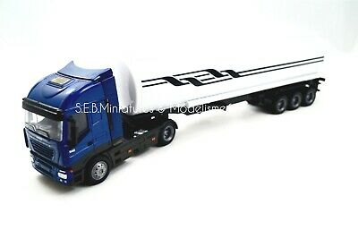 Iveco Stralis 40' Camion Transport Petrolier - 1/43 New Ray Nwr15623