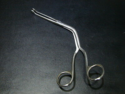 Magill Curved Bent Forceps Intubation Clamps Body Piercing 25.4cm Stainless