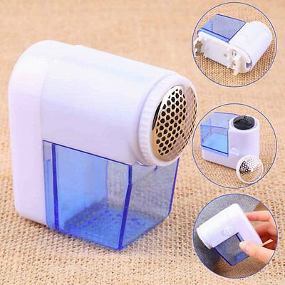 Mini Electric Fuzz Cloth Pill Lint Remover Wool Sweater Fabric Shaver Trimmer SN