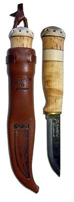Marttiini Witches Tooth Knife 2120010 Carbon Fixed Blade Hunting Outdoor Finnish