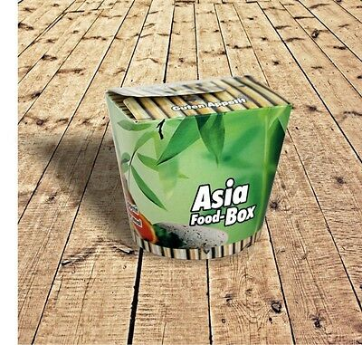 500 Asiabox Asiaboxen Nudelboxen Foodboxen Take away 26oz 710ml