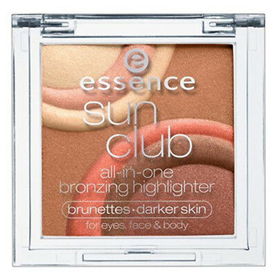 essence Sun Club all-in-one bronzer highlighter multi colour face eyes body #02