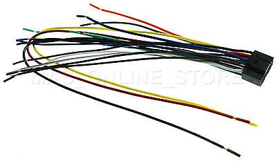NEW 16 PIN Wire Harness for KENWOOD DNX890HD Player - $12.76 ... Kenwood Dnx Hd Wiring Diagram on