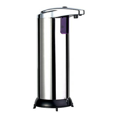 Stainless Steel Handsfree Automatic IR Sensor Touchless Soap Liquid Dispenser LY