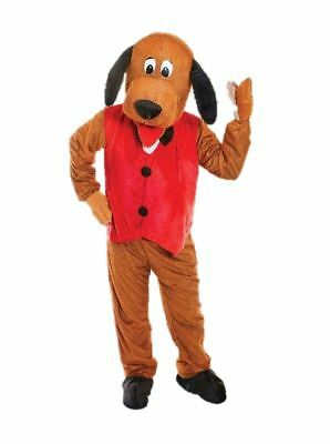 Dog Mascot Big #Head Animals /& Nature One Size Costume Fancy Dress